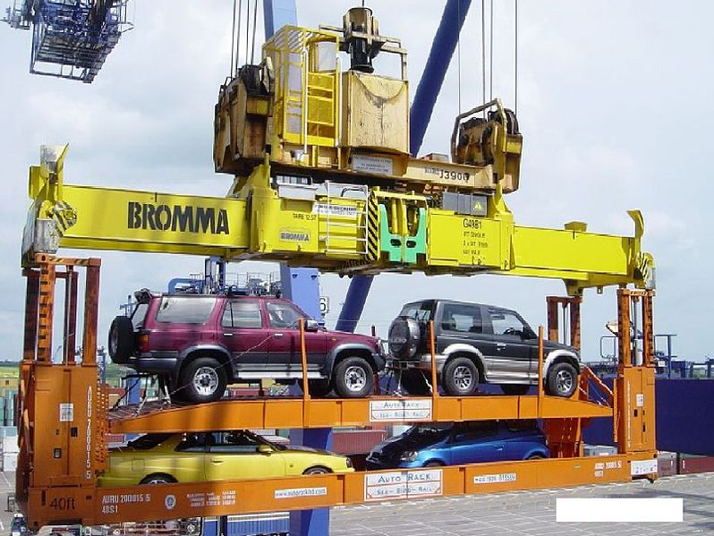 International Construction Equipment Shipping Services